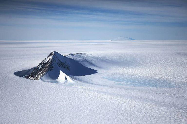 Efeitos do derretimento na Antártica.