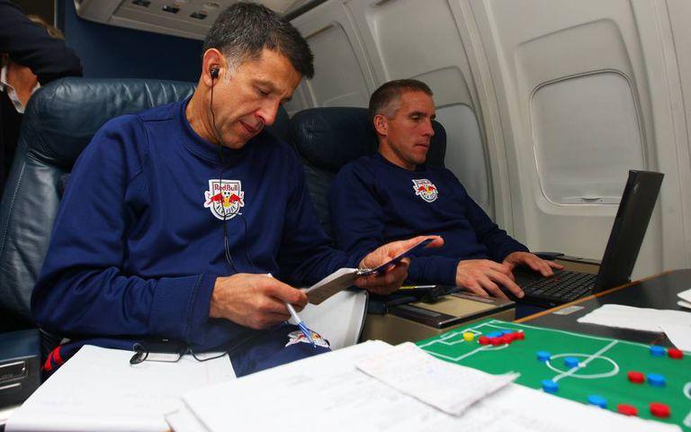 Osorio em 2008, quando dirigia o New York Red Bulls.