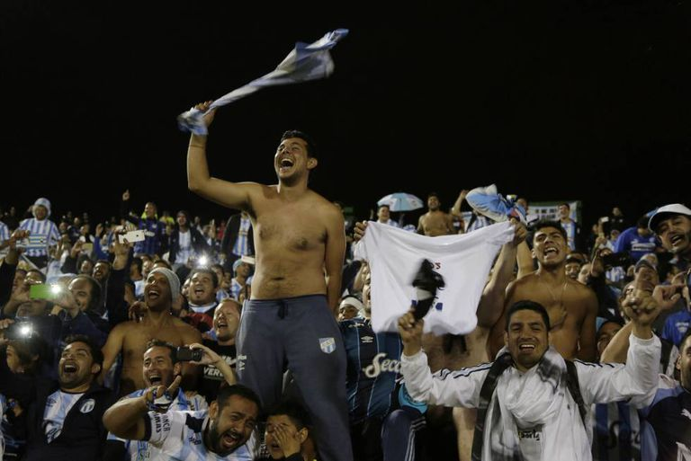 A alegria dos tucumanos que viajaram a Quito.