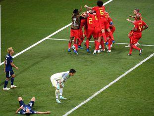 Belgas vencem no último segundo de jogo