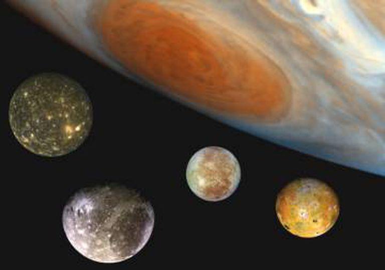 As luas de Júpiter são o primeiro grande objetivo científico da ESA