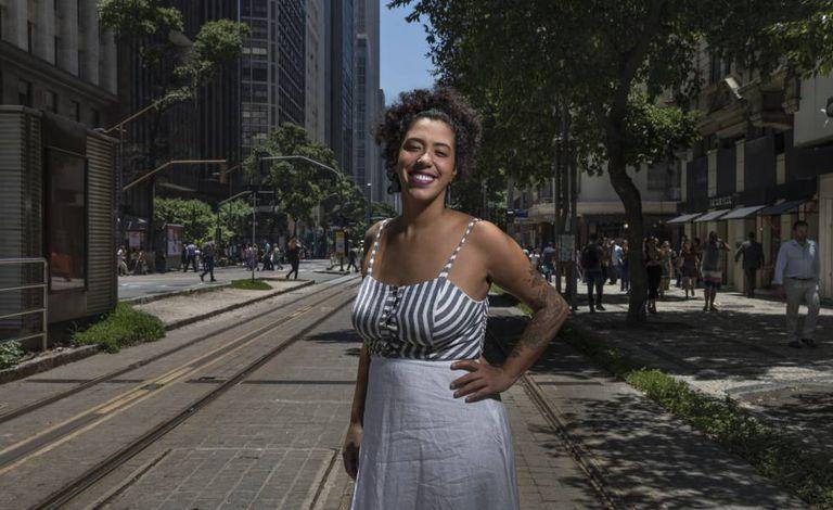 Talíria Petrone, na sexta-feira, no Rio de Janeiro