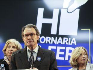 Joana Ortega, Artur Mas e Irene Rigau.