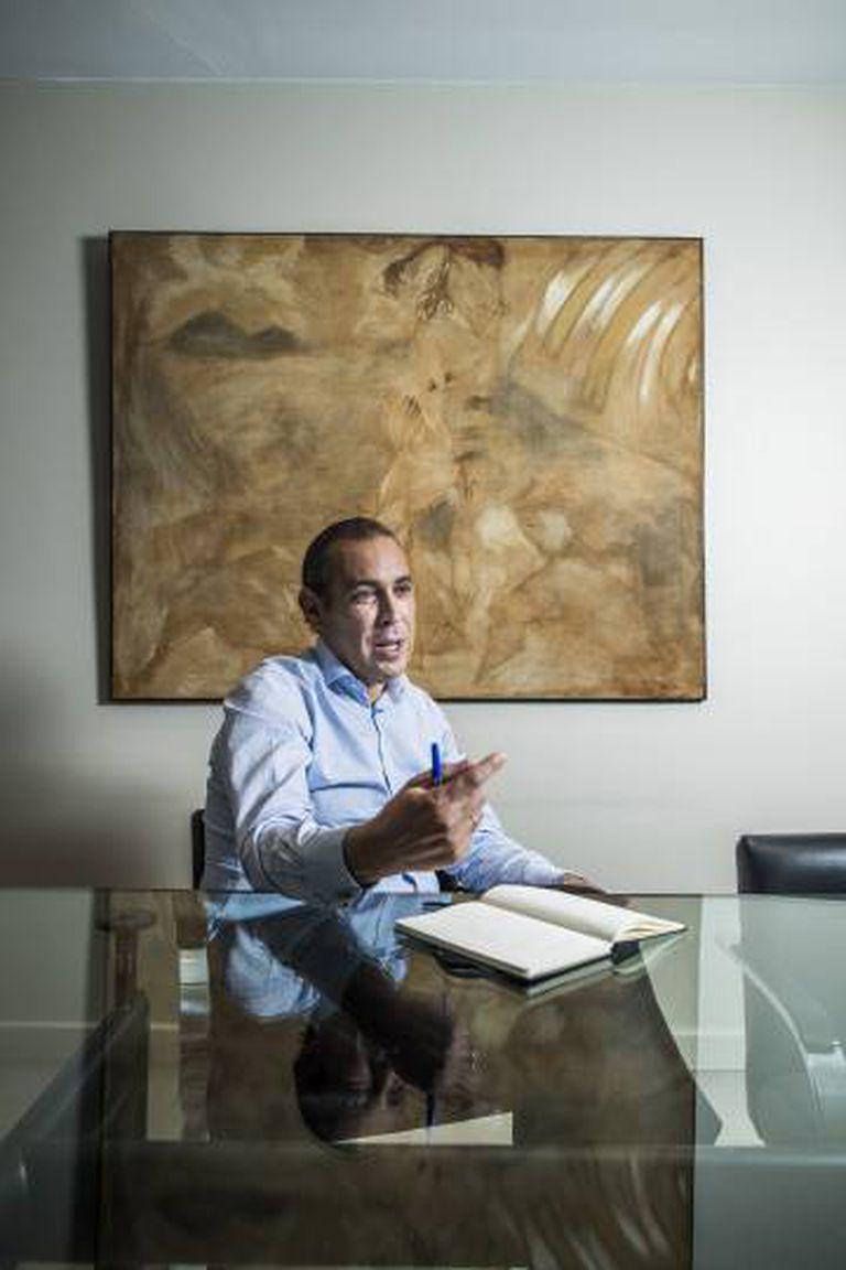 Manuel Mirat, durante a entrevista.