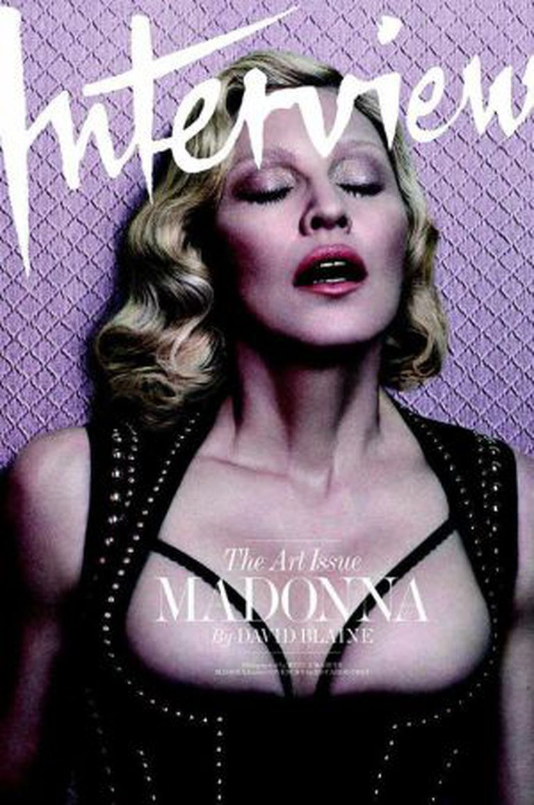 Madonna para a revista Interview.
