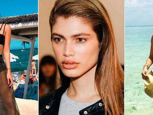 A 'instagramer' brasileira Thassia Naves, a modelo transgênero Valentina Sampaio e Adriana Degreas
