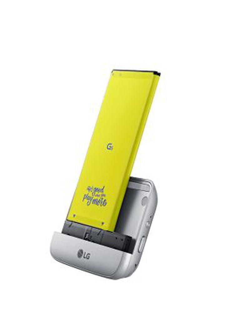 O módulo LG CAM Plus, que transforma o G5 numa câmera independente.