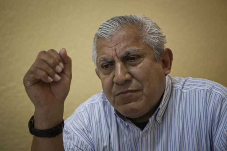 O diretor da Escola Normal em Ayotzinapa.