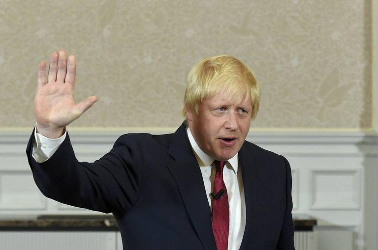 Boris Johnson, nesta quinta-feira.