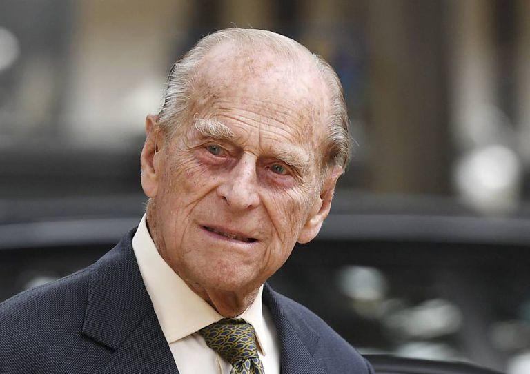 O príncipe Philip, duque de Edimburgo, no último dia 13.
