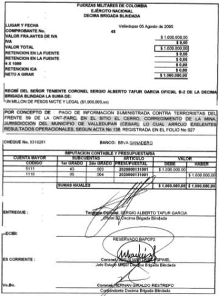Ordem de recompensa de 5 de agosto de 2005.