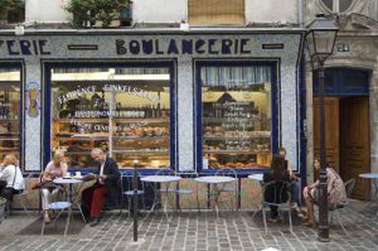 Padaria no Marais (Paris).