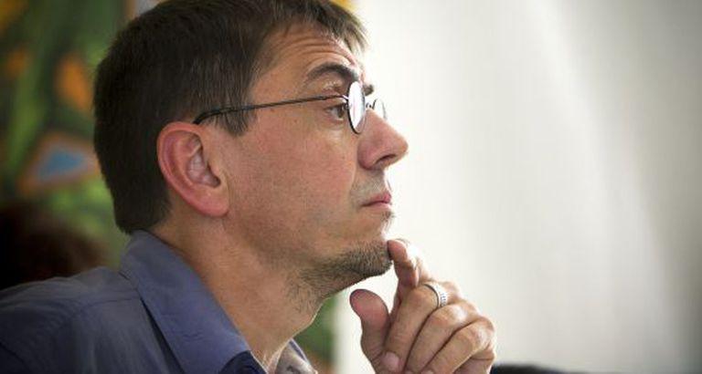 Juan Carlos Monedero no fórum social do festival de Benicassim.
