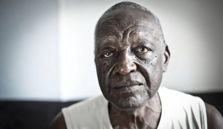 Joel Camargo, semanas antes de sua morte, em 2014.