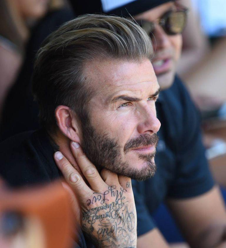O look de David Beckham, um dos mais copiados e admirados pelos homens, poderia custar 5.000 euros (18.000 reais)