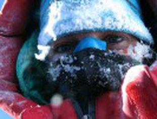 Ela abriu mão de ser a primeira mulher a conquistar um dos picos mais altos no inverno para evitar a morte e proteger seus colegas