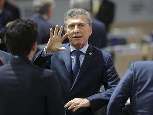 Macri na Cimeira de Segurança Nuclear em Washington o passado 1 de abril.