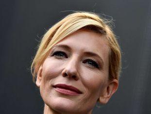 A atriz Cate Blanchett.