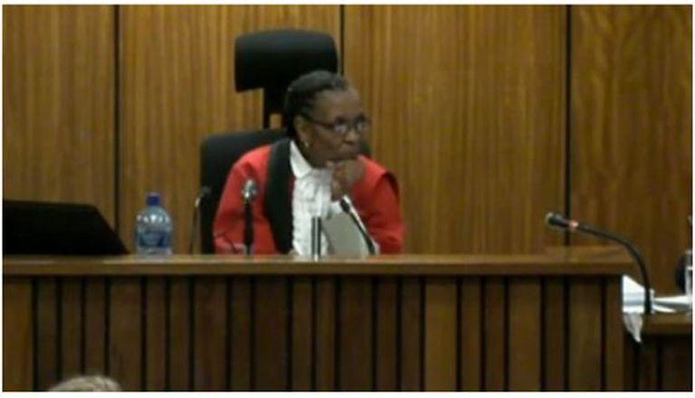 Thokozile Masipa, durante o julgamento de Pistorius.