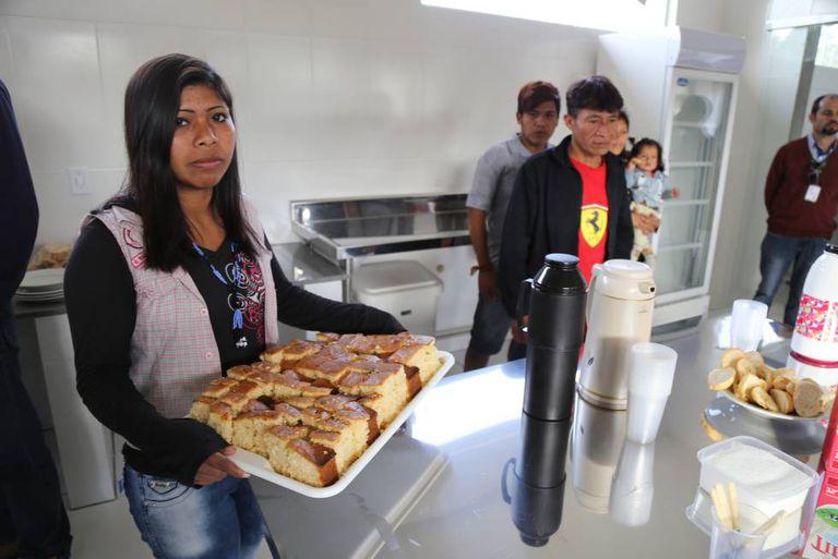 Na nova padaria, os guaranis assarão pães e bolos feitos com frutas e verduras.