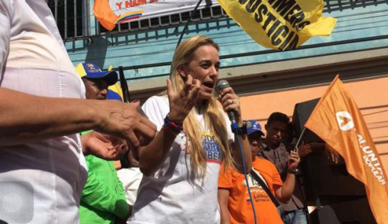 Tintori no ato de Guárico onde assassinaram ao opositor.