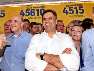 Serra, Aécio e Alckmin ainda não se entenderam.