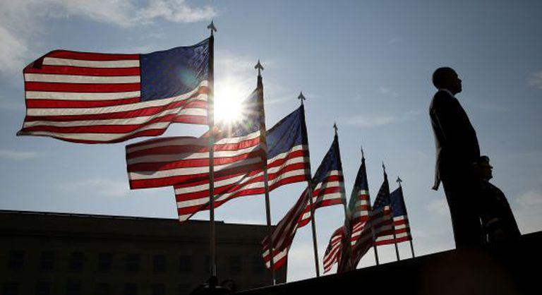 O presidente Barack Obama, durante a comemoração dos atentados do 11/09 em Washington na quinta-feira.