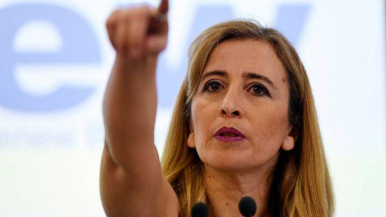 Sandra Khadhouri, representante do partido Renew