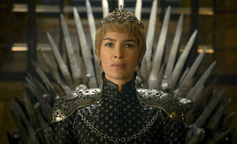 "Lena Headey em ""Game of Thrones."