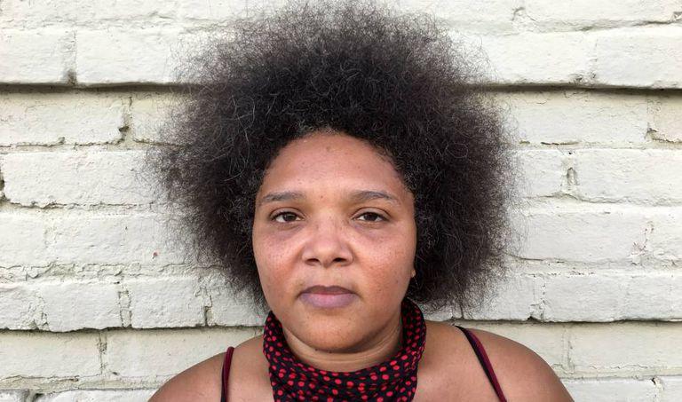 Candice, de 38 anos, faz parte da organização Black Lives Matter
