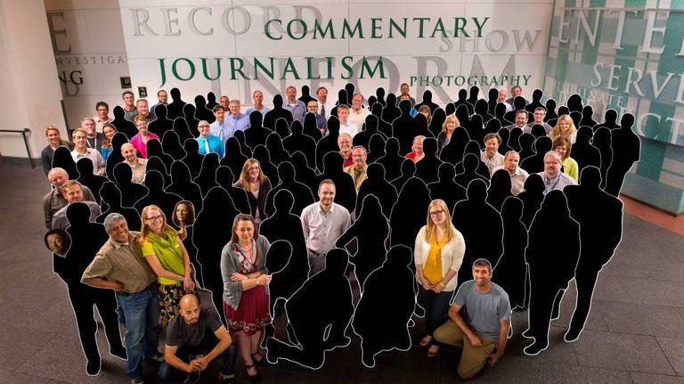 Profissionais 'apagados' da redação desde 2013