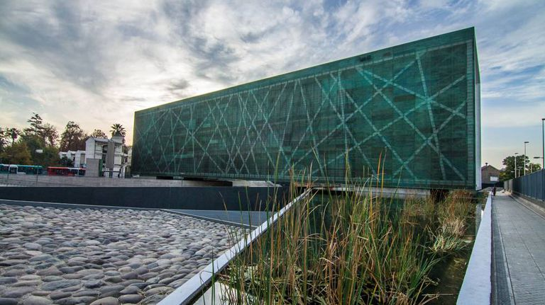 O Museu da Memória, em Santiago, no Chile.