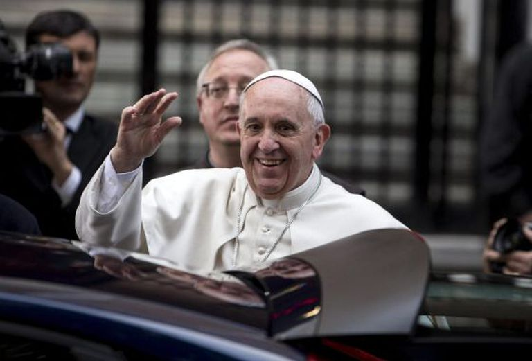 O papa Francisco, nesta sexta-feira em Roma.