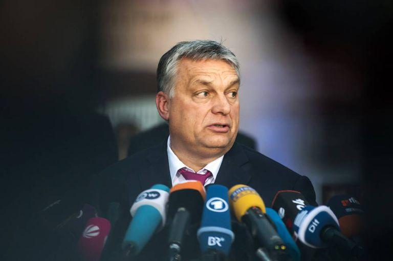 Viktor Orbán, em 5 de janeiro em Seeon (Alemanha)