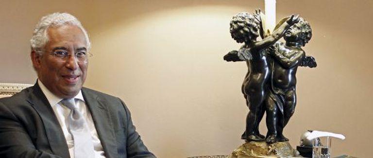 António Costa, em entrevista com Aníbal Cavaco Silva.