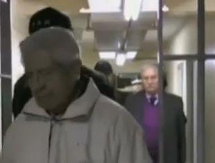 Imagen do translado dos presos.