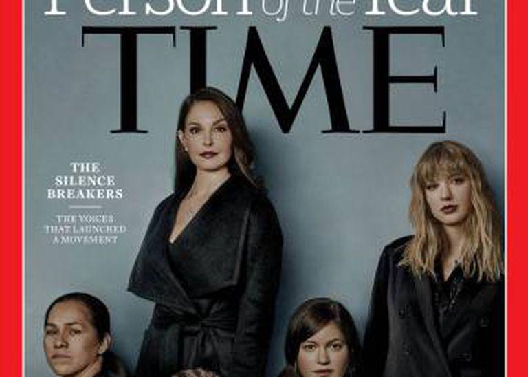 Capa de dezembro da revista 'Time'.