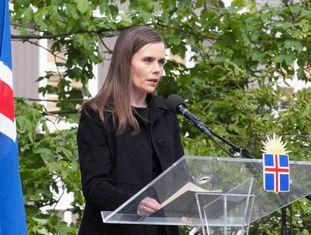 Katrín Jakobsdóttir, primera ministra da Islândia.