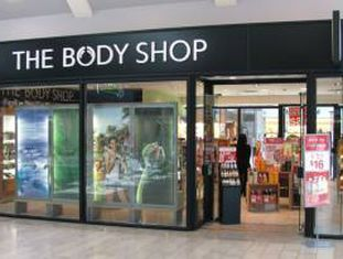 Loja da The Body Shop.
