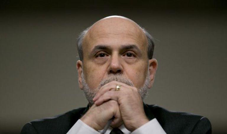 Ben Bernanke, presidente do Banco Central dos EUA.