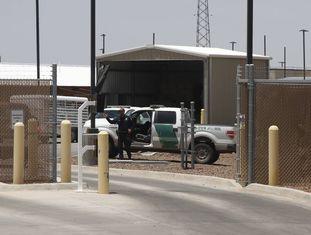 Centro da Patrulha de Fronteira em Clint, Texas.