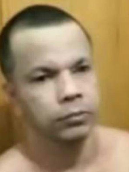 Clauvino da Silva, em uma imagem feita pelos servidores públicos da prisão depois que se descobriu seu disfarce.