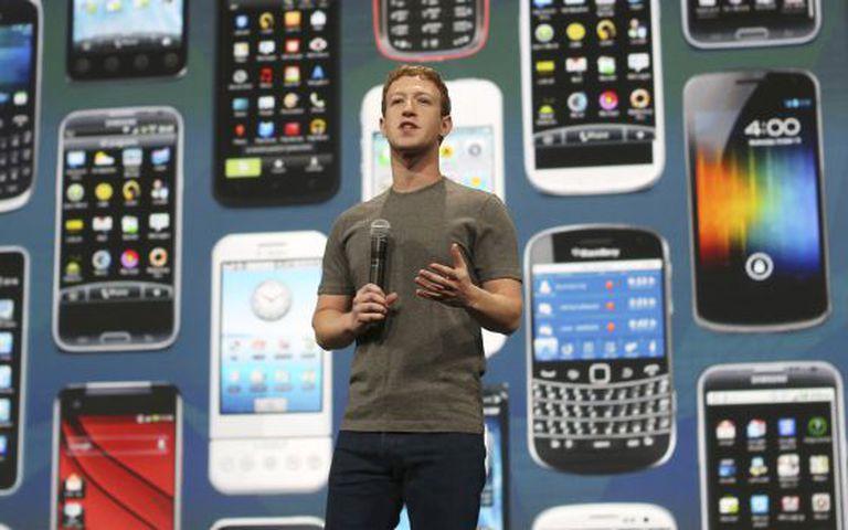 Mark Zuckerberg, diretor executivo do Facebook.
