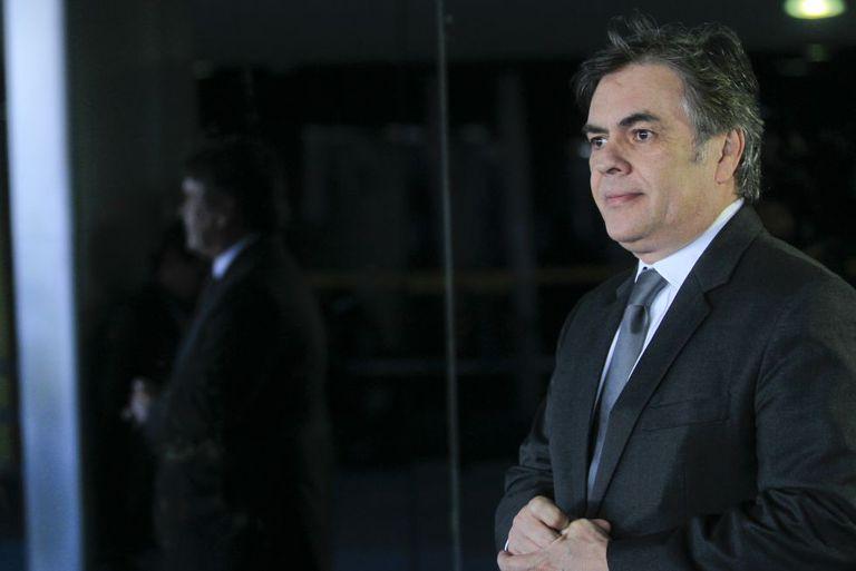 O senador Cássio Cunha Lima, no dia 4 de março.