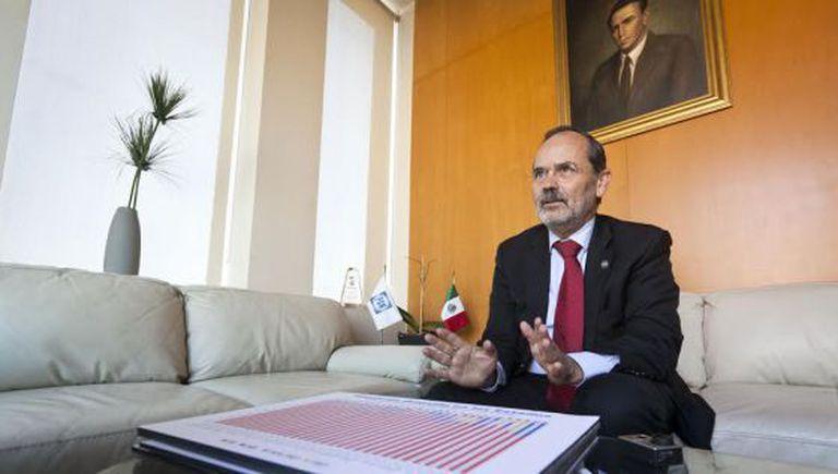 Gustavo Madero, em dezembro de 2013.