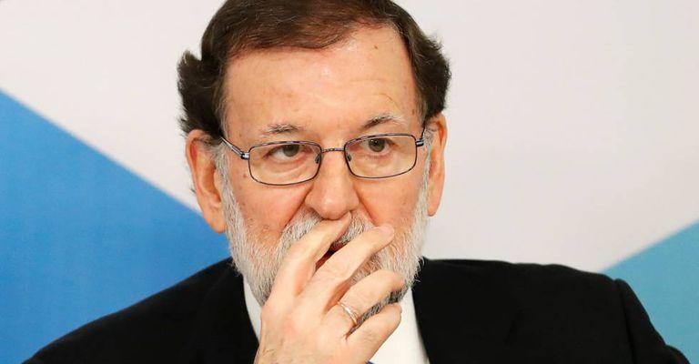 Rajoy na reunião da executiva do PP.