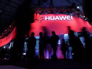 O estande da Huawei no Mobile World Congress 2017, em Barcelona.