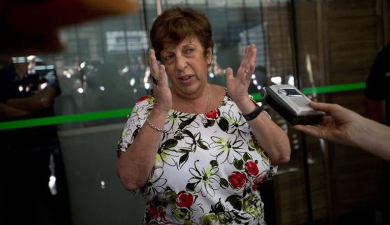 Viviana Fein, promotora do caso, próxima ao seu escritório.