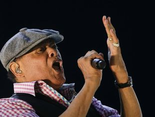 Al Jarreau no Rock in Rio, no Rio de Janeiro.