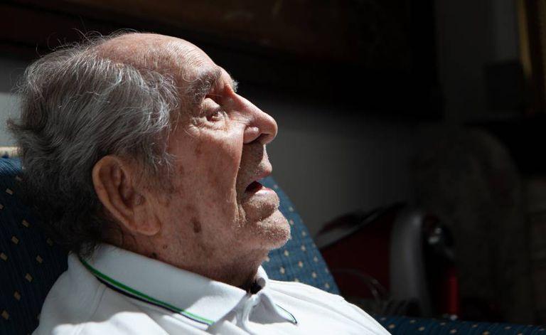 Araújo durante entrevista ao EL PAÍS